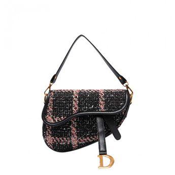 655698163321 MUNDA IT Saddle Handbag With Long Shoulder Strap - Large