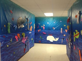 Under the Sea hall for weird animals vbs