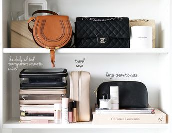 The Daily Edited Cosmetic Cases via The Beauty Look Book