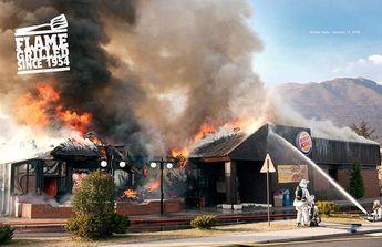 Burger King Burning Stores