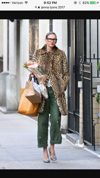 Leopard coat on repeat. February 2017.