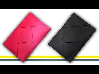 How To Make Paper Envelope Easy Step By Step | Popular Craft | Diy Craft Paper Envelope Easy - YouTube