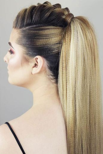 30 Girly Braided Mohawk Ideas To Keep Up With Trends