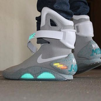 ce396062bf0 Nike Air Mag on feet by  christian rondox  nike  nikeairmag   backtothefuture  sneakers