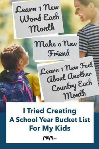 I Tried Creating A School Year Bucket List For My Kids
