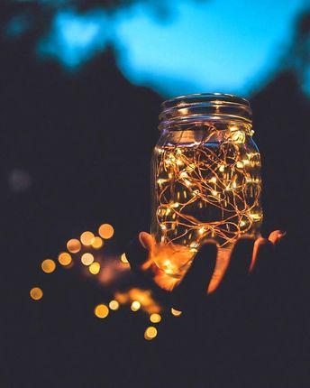 Create your mason jar fairy lights in 5 minutes!