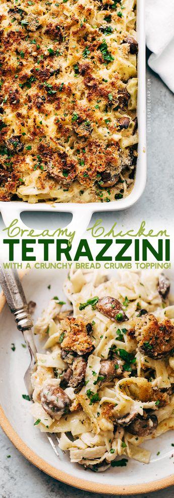 Cozy Creamy Chicken Tetrazzini