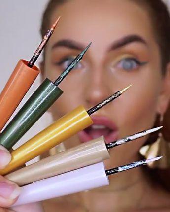 Rimmel Wonder'swipe -2-in-1 Liner to Shadow —— #eyeliner #makeuptutorial #makeup