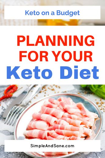 Keto on a Budget - Part 1 - Planning for the Ketogenic Diet