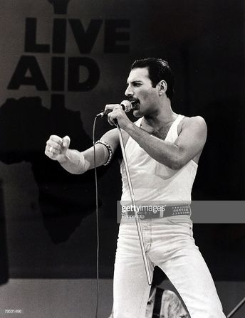 Entertainment/Music, Live Aid Concert, Wembley, London, England, 13th...