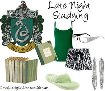 Slytherin Late Night Studying