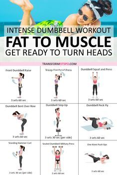 ?? Rapid Results Dumbbell Workout! Adding Weights Will Turn Fat to Muscle! Get Ready to Turn Heads...