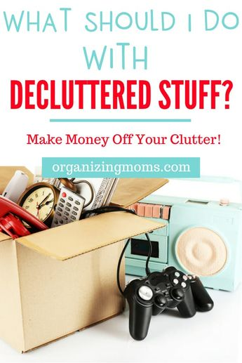 What Should I Do With Decluttered Items