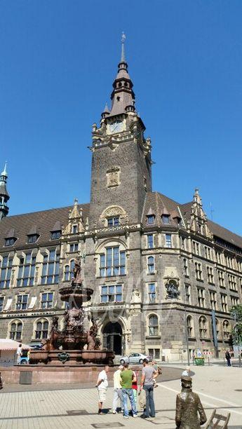 Rathaus at Elberfeld Wuppertal Germany