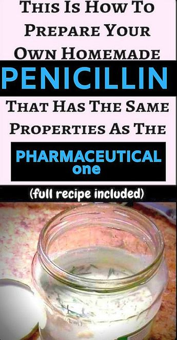 This sort of home made penicillin comes in itself exactly the very same properties and pharmaceutical penicillin and can come in very handy for someone who doesn't have use of a pharmacy and needs the medication to reduce health complications.