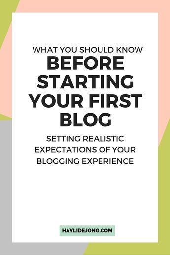 Blogging can be a totally rewarding thing to do- and there is some money to be had in doing it. But there are a few things that you should know before you start your blog. Check out this post to find out what you should know before you decide to start your blog or online business adventure.
