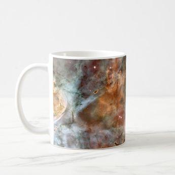 Carina Nebula Dark Clouds Coffee Mug | Zazzle.com