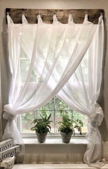 85 Best Modern Farmhouse Living Room Curtains Decor Ideas - HomeSpecially