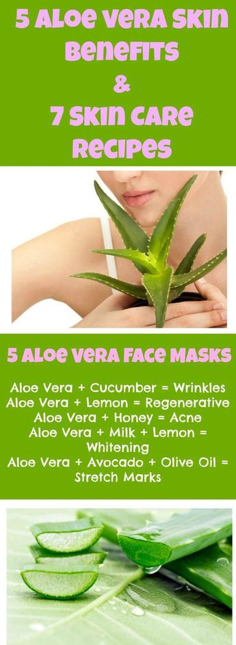 Aloe Vera Gel For Skin And Face Care - Natural Beauty Tips