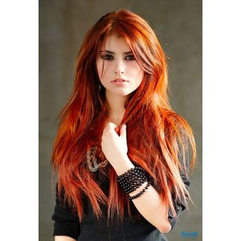 Set of 5 Ombre Red and Orange - Salon Grade Colored Hair Chalk - Temporary Color Pastels