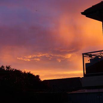 Crazy sunset #sydney #nofilter #sunset  Crazy sunset #sydney #nofilter #sunset
