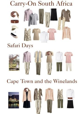 Africa Safari is the ultimate bucket list trip, but packing space is at a premium. How to packing for Safari in a Carry-On and still look good in Cape Town and the winelands – TravelingTulls #bucketlist #southafrica #carryon #travellight #capetown