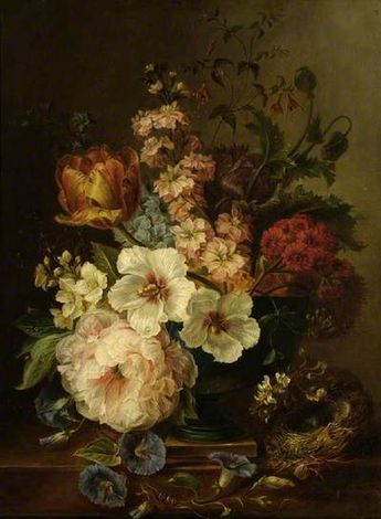 A bowl of flowers A Liot