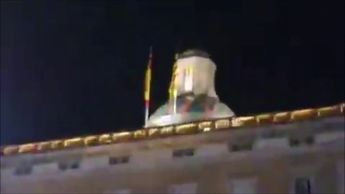 Torra ordena arriar la bandera de España del palacio de la Generalitat