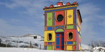 The Barolo Chapel: Sol LeWitt's Colorful Church in Italy   Barnebys Magazine