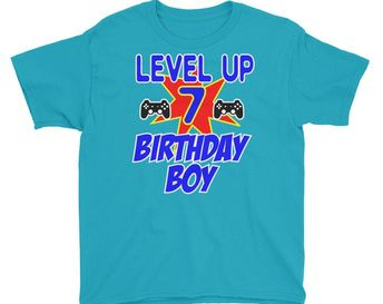 Gamer Birthday Shirt T For Kids