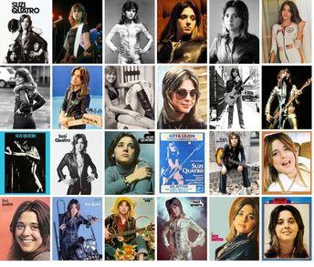 Postcards Set 24pcs * Suzi Quattro Rock Music Vintage Posters Photos Magazine Covers CC1224