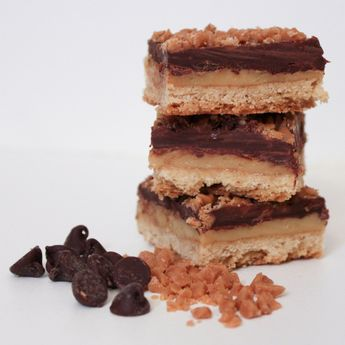 Skor Toffee Squares--if you have ever had a Skor chocolate bar, this dessert is for YOU. OMG--be warned as it states in this blog...you will not eat just one:)