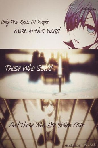 The Anime Quote Book - 26  Black Butler Quote 3