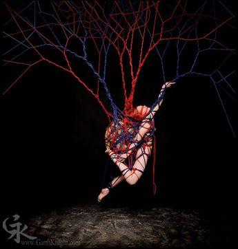 Garth Knight Turns Sensual Shibari Rope Bondage Into High Art
