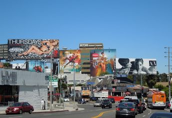Sunset Strip Billboards.