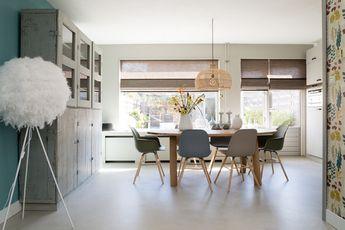 Hk living rotan hanglamp: home decor inspiratie betoverend hangstoel