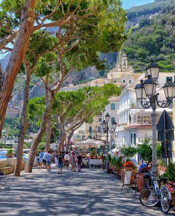 Beautiful Amalfi, Italy