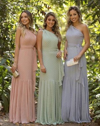 Vestidos para madrinhas e convidadas de casamento durante o dia