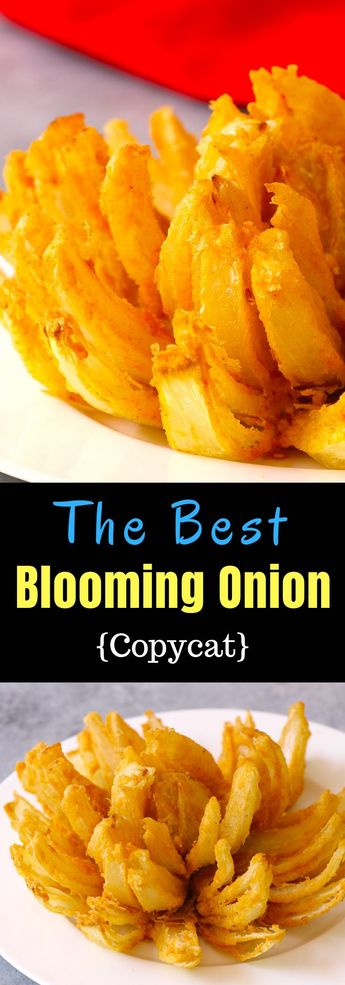Blooming onion is a delicious and crispy appetizer, rivalling Outback Steak bloomin onion ! Learn how to make a blooming onion so that it has the awesome blossom presentation.