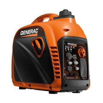 Generac GP2200i - 2200-Watt Gasoline Powered Recoil Started Residential Portable Inverter Generator