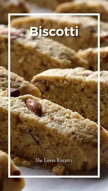The only biscotti recipe you will ever need... Almond Biscotti from She Loves Biscotti :) #biscotti