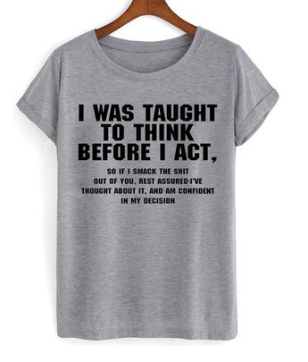 Interesting shirt.