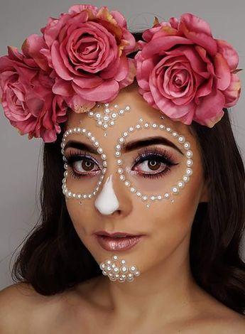 Día De Los Muertos Makeup Ideas For Halloween