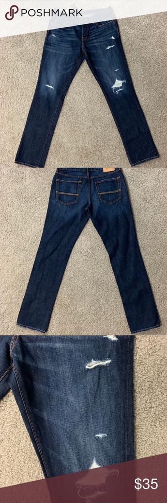 c2b2607079cf1 Abercrombie and Fitch Jeans 32 30 Mens Slim Pants Abercrombie and Fitch  Jeans 32 30 Mens