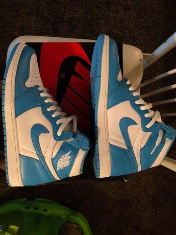 separation shoes c23db d4866 Air Jordan 1 High OG UNC Size 11.5 University Blue  fashion  clothing  shoes