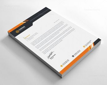Stylish Business Letterhead - Graphic Templates