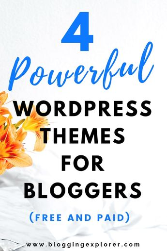 The Best WordPress Themes For Blogs 2020 (Free and Paid): Beginner's Guide