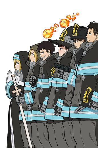 Fire Force Manga Volume 4