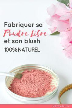 fabriquer sa poudre libre maison et son blush ! Rien de plus facile ! Il suffit de suivre les indications ! #AcneRemediesHomemade