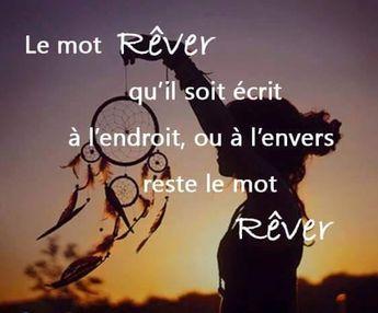 """Le mot REVER, qu'il soit écrit à l'endroit ou à l'envers, reste le mot REVER - C'est ce qu'on appelle un """"palindrome""""."""